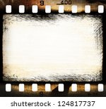 Grunge Filmstrip  May Be Used...
