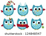 Cute Winter Owl Collection...