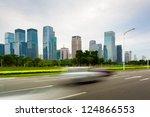 urban road in the evening | Shutterstock . vector #124866553