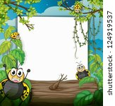 illustration of bugs in the... | Shutterstock .eps vector #124919537