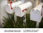 White Letter Boxes In Seasonal...