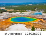 Grand Prismatic Spring Yellowstone National - Fine Art prints