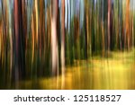 Blurred Abstract In Strong...