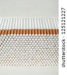 Big Stack Of Cigarettes...