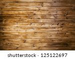 aged panel wood background - stock photo