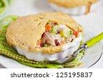 Chicken Pot Pie With Vegetables