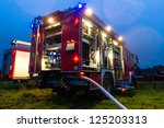 Fire Truck Or Engine With...