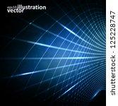 abstract vector futuristic...   Shutterstock .eps vector #125228747