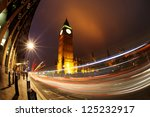 Big Ben With Traffic In The...