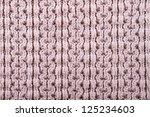 photo of woolen fabric | Shutterstock . vector #125234603