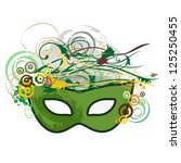 Carnival Purim Festival Mask Pop Art Abstract Nature - stock photo