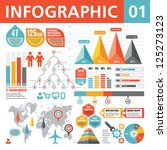 infographic elements 01 | Shutterstock .eps vector #125273123