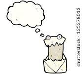 cartoon letter | Shutterstock .eps vector #125278013