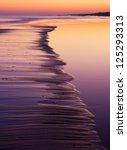Coast Closeup At Sunset....