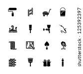 computer icon set   Shutterstock .eps vector #125392397