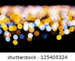 Defocused light background - stock photo
