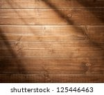 wooden wall background in a... | Shutterstock . vector #125446463