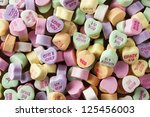 Colorful Conversation Hearts...
