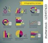 illustration of social media... | Shutterstock .eps vector #125457623