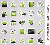 green school stickers.