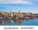 panoramic view of gallipoli.... | Shutterstock . vector #125510567