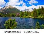 Beautiful Lake Strbske Pleso...