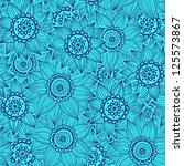 floral pattern   Shutterstock .eps vector #125573867