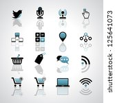 internet business icons