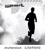 sport background | Shutterstock .eps vector #125695043