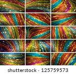 vector abstract bokeh... | Shutterstock .eps vector #125759573
