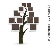 family tree design  insert your ... | Shutterstock . vector #125768537