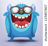 alien,animal,bizarre,bright,cartoon,character,cheerful,creature,cute,demon,devil,face,funny,glasses,happy
