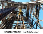 Oil Drilling Derrick With Top...