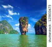 island in thailand phuket.... | Shutterstock . vector #125833673