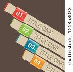 modern design template   can be ...   Shutterstock .eps vector #125858063