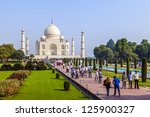 agra  india   oct 18  the... | Shutterstock . vector #125900327