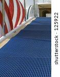 ships gangplank to luxury boat | Shutterstock . vector #125922