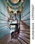 Stairs In Odessa Ancient...