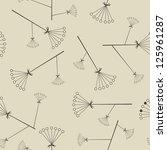 seamless pattern. raster...   Shutterstock . vector #125961287