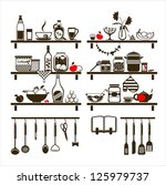 Vector Food And Drinks Icons...