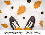 i'm in the winter forest.... | Shutterstock . vector #126007967