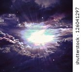 Star Field In  Deep Space Many...
