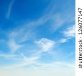 Stock photo blue sky 126077147