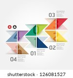 modern design template   can be ... | Shutterstock .eps vector #126081527