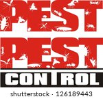 pest control   insects | Shutterstock .eps vector #126189443