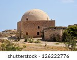 Greece, island Crete, old house - stock photo