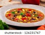 chili con carne | Shutterstock . vector #126231767