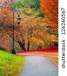 Beautiful Autumn Landscape Wit...