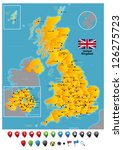 united kingdom | Shutterstock .eps vector #126275723