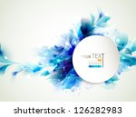 Background With Abstract Blue...